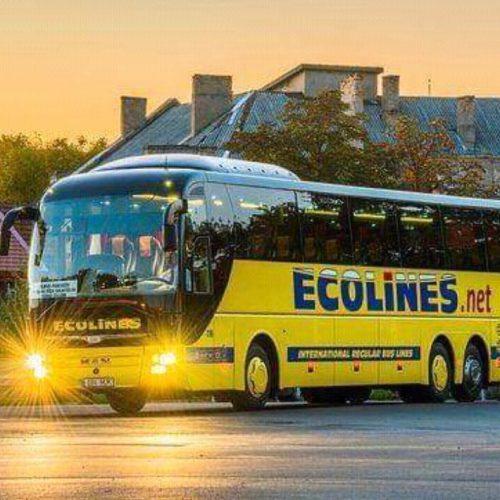 🔖   Автобусом по Европе